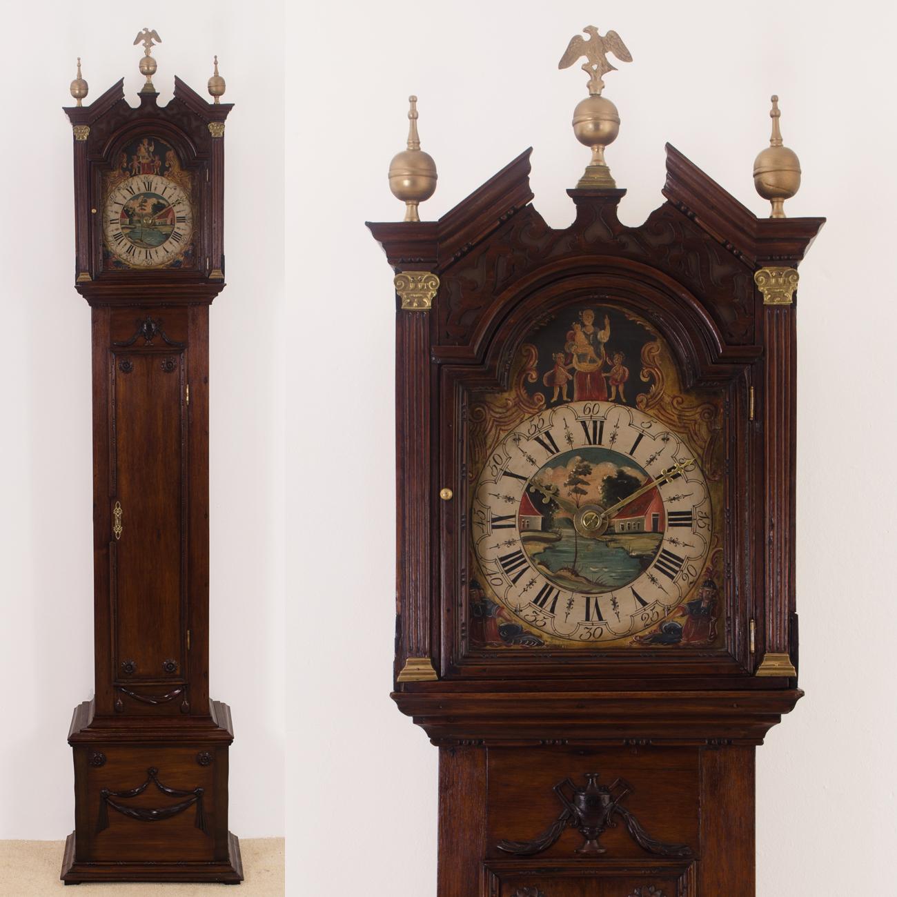 Friese staande klok