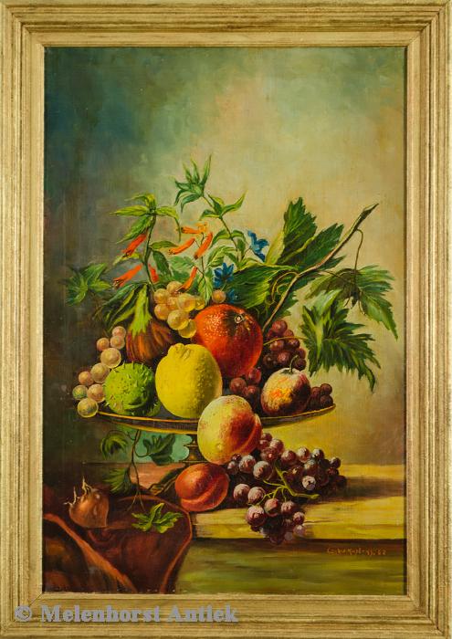C.W. Kusters - Fruitstilleven
