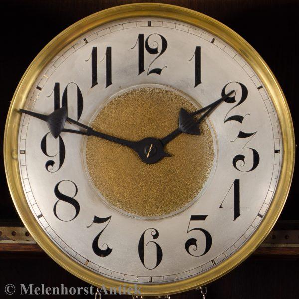 Art deco staande klok