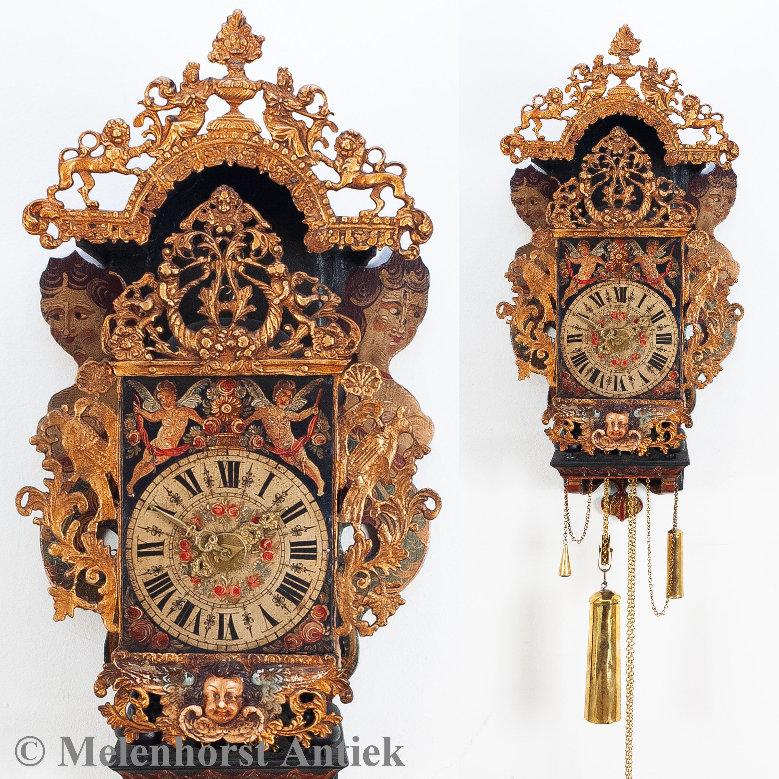 Friese klok van Wybren Bartolomeus Klok