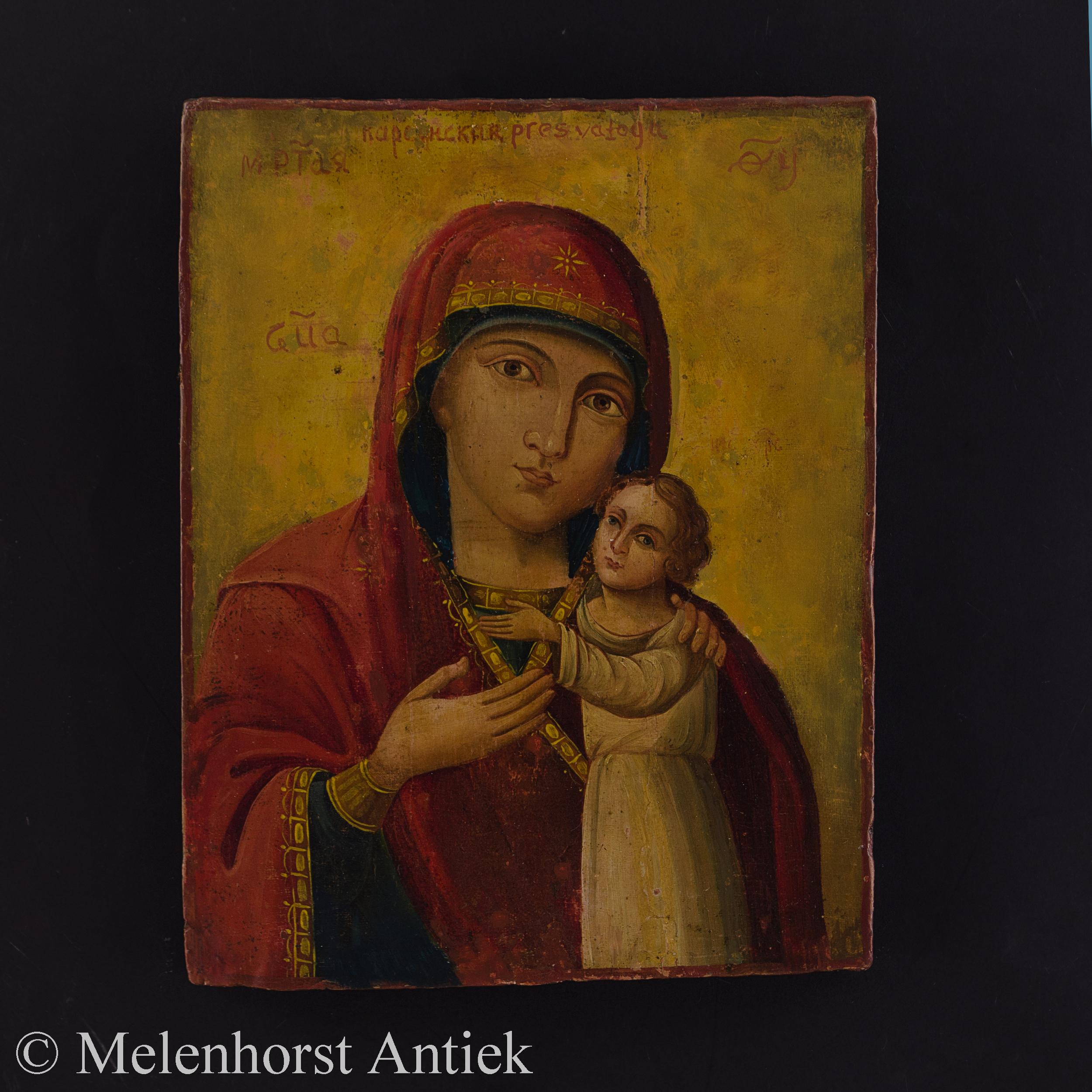 Icoon Moeder Gods Kazanskaja