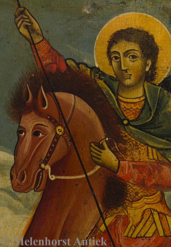 icoon Demetrius van Thessaloniki