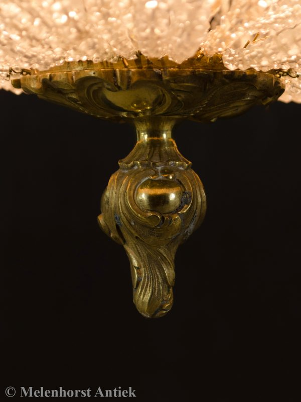 Antieke kristallen zakkroonluchter
