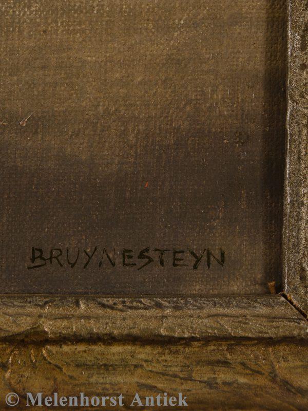 Nicolaas Bruijnesteijn - olieverf op doek