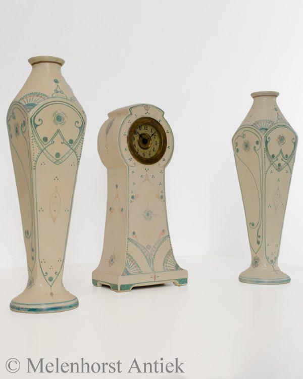 Art nouveau klokkenstel