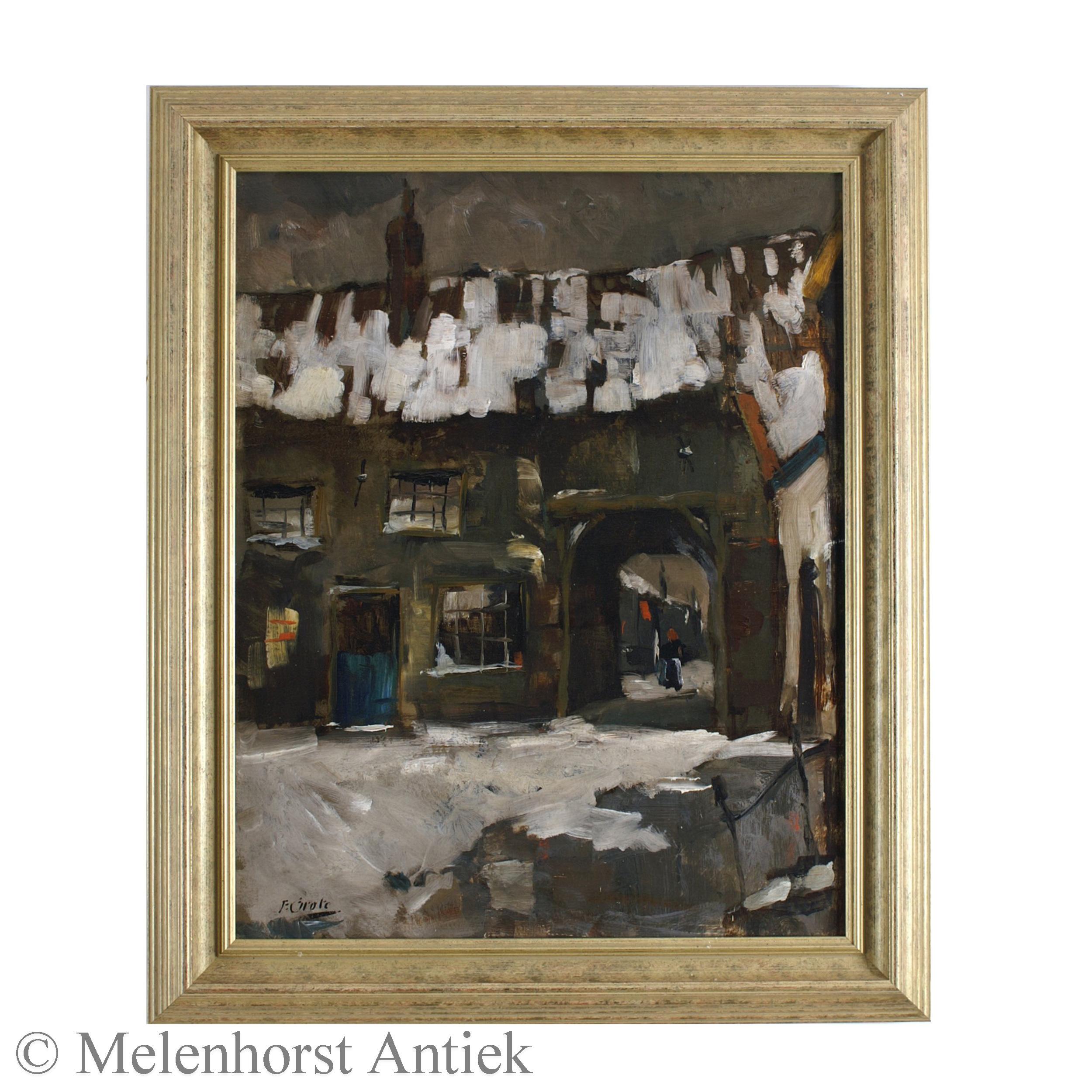 Friedrich Grote - Winter in Den Bosch