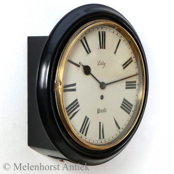 Zwarte pub clock