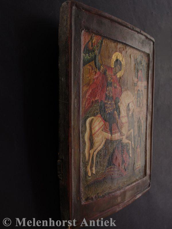 Icoon Sint Joris de Drakendoder