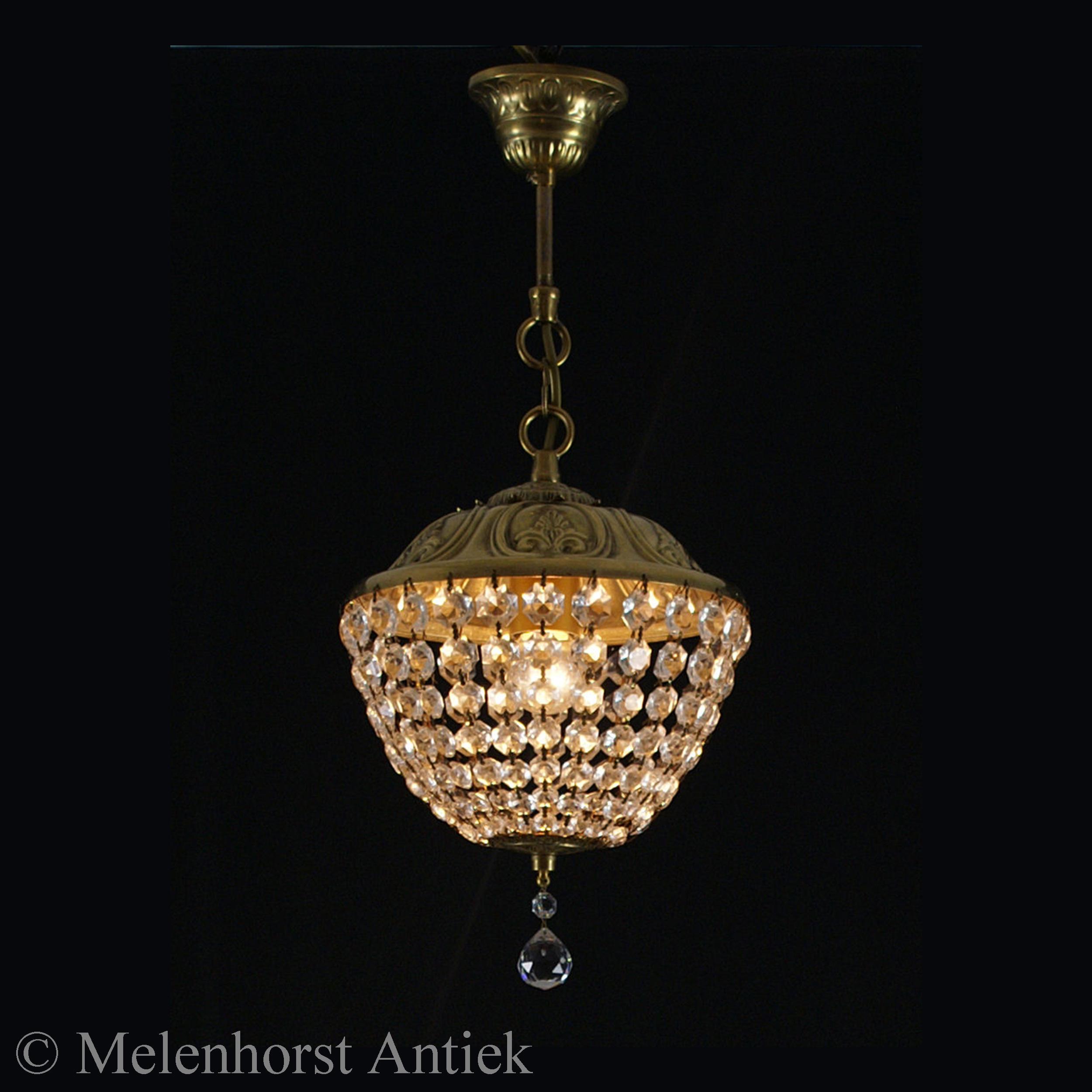 Kristallen hanglampje