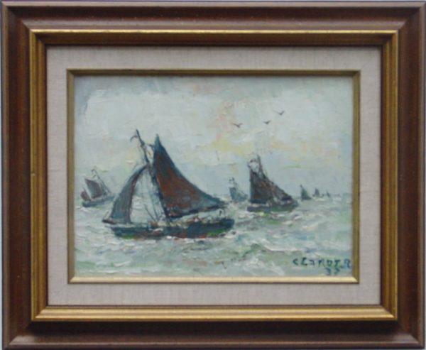 René Clarot - Marouflag