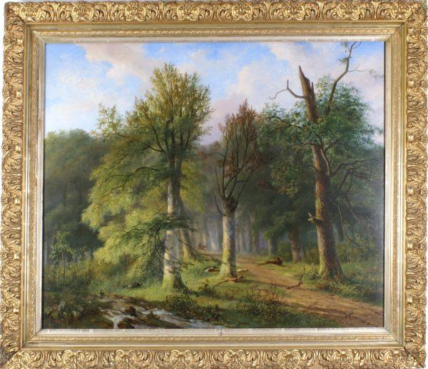 Schilderij N.J. Roosenboom