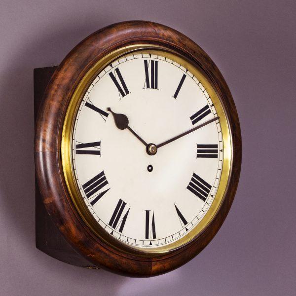 Fusee dial clock Winterhalder & Hofmeier