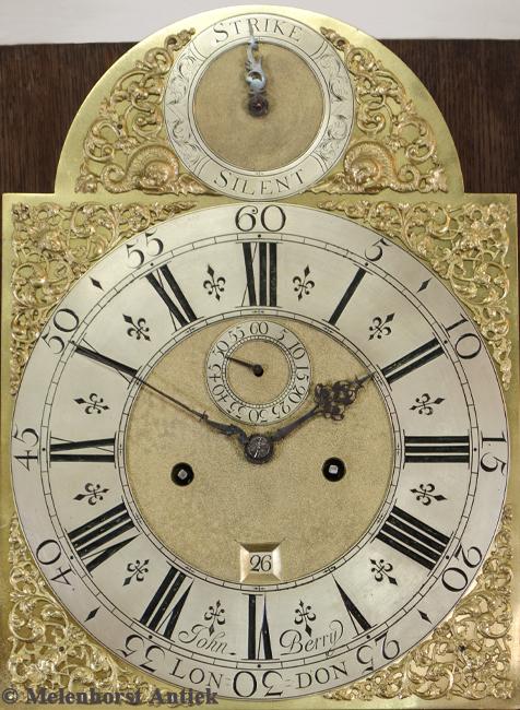 Engelse staande klok John Berry, London