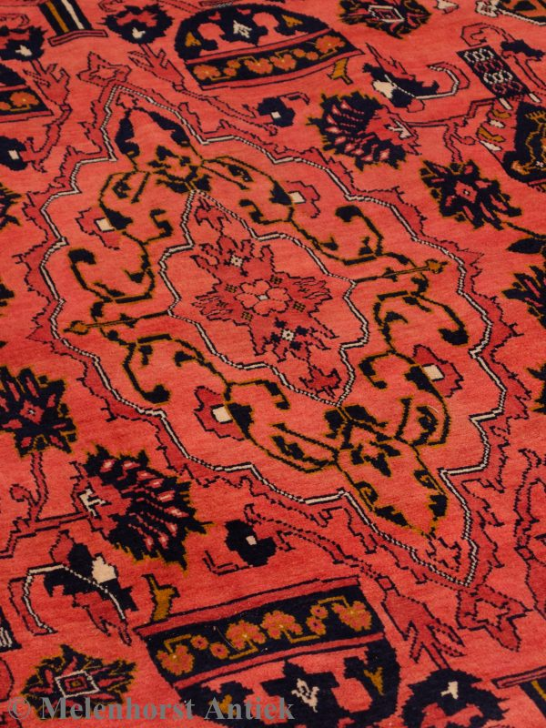 Handgeknoopt Turkmen tapijt