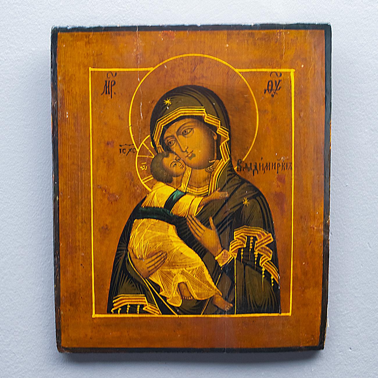 Icoon Moeder Gods van Vladimir