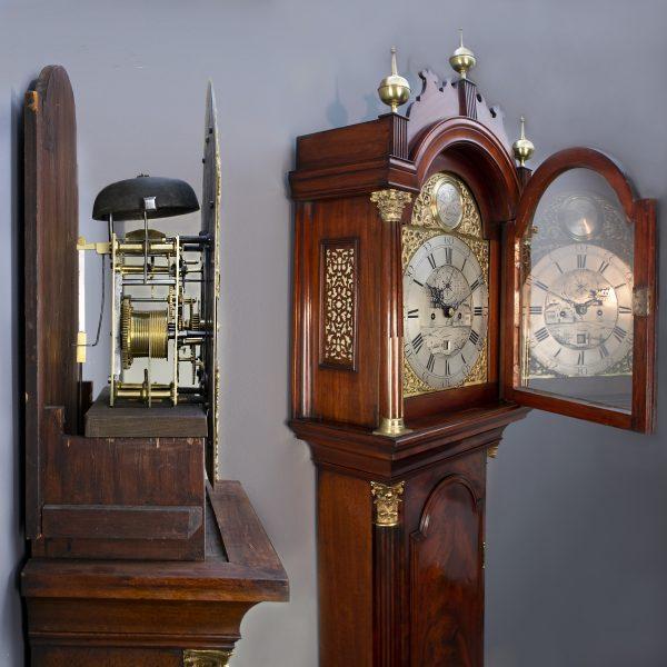 Engelse staande klok Henry Raworth - Plymouth