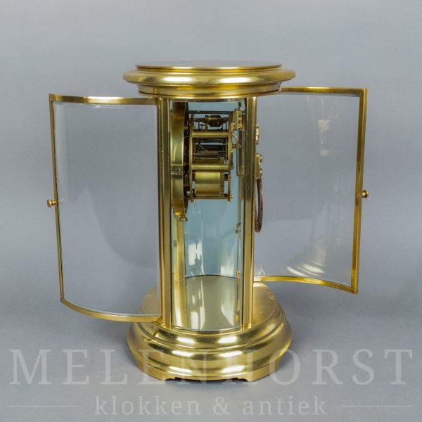 Ovale glaspendule